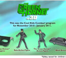 Green Hornet in 3D (Hardee's, 2011)