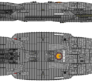 Orianos Class Escort Battlestar