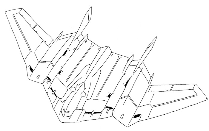 stealth bomber coloring pages - photo#3