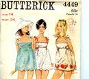 Butterick 4449 A