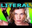LITERAL Resident Evil Afterlife