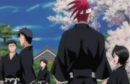 Renji and Rukia relax with the other 6th Division members.png
