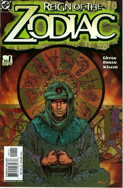 reign of the zodiac vol 1 dc comics database