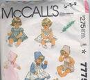 McCall's 7775 A