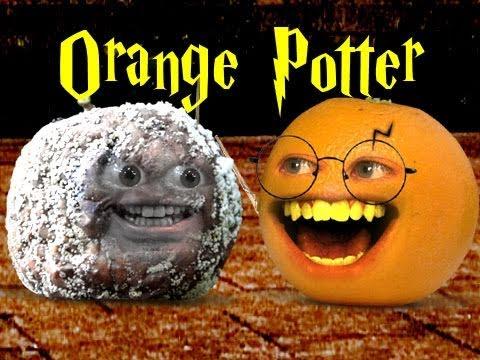 Annoying Orange Orange Potter And The Deathly Apple