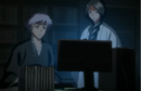 Unohana and Isane analyse Dangai information.png