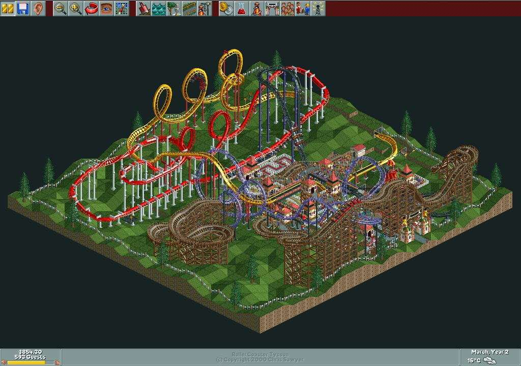 RollerCoaster Tycoon World - RollerCoaster Tycoon - The ...