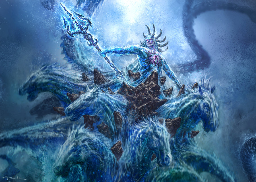 God of war iii poseidon 02 by andyparkartPoseidon God Of War Game