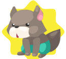 Bad Wolf Plushie