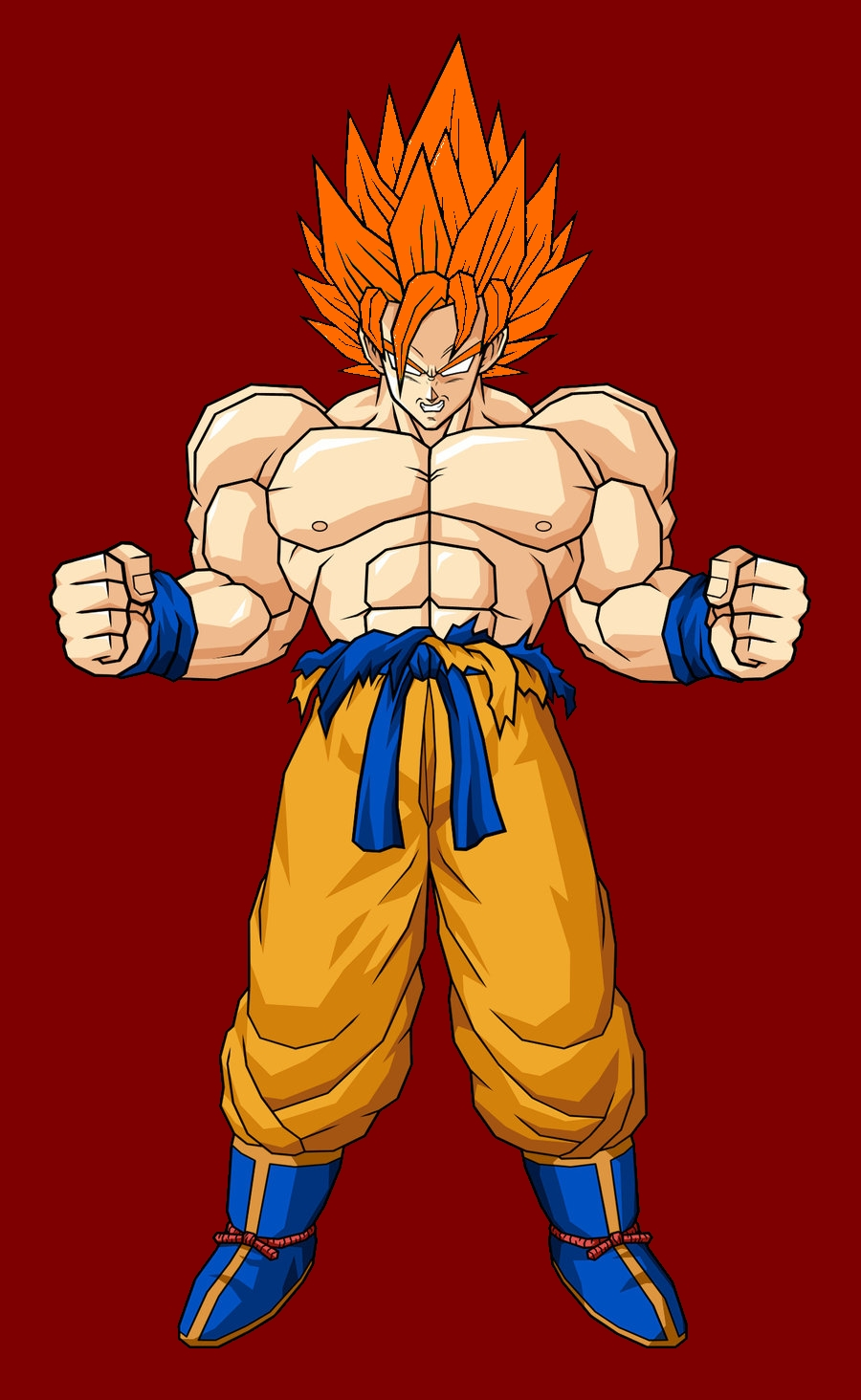 Super saiyan beyond limits ultra dragon ball wiki - Goku 5 super saiyan ...
