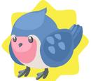 Blue Robin Plushie