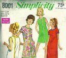 Simplicity 8001