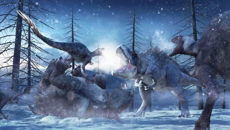 tiranosaurio - Nanuqsaurus (El Tiranosaurio de Alaska) March-of-the-dinosaurs-poster