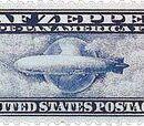 Graf Zeppelin Passing Globe ($2.60)