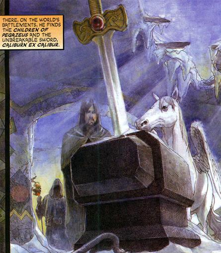 Excalibur Dc Comics Database