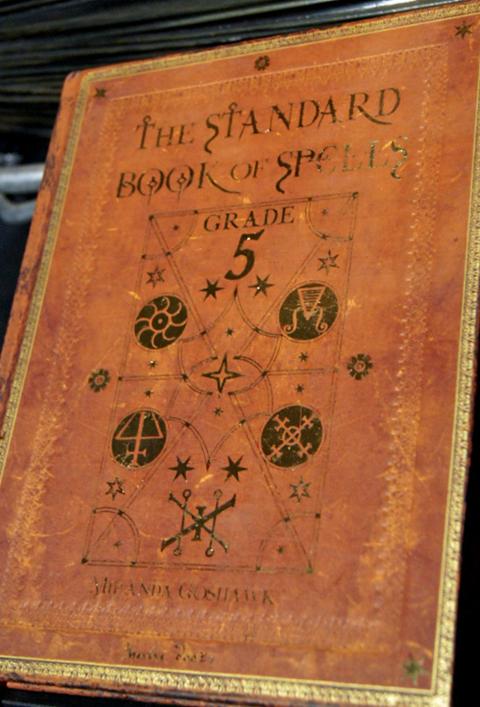 Harry Potter Book Level : Image standard book of spells grade harry potter