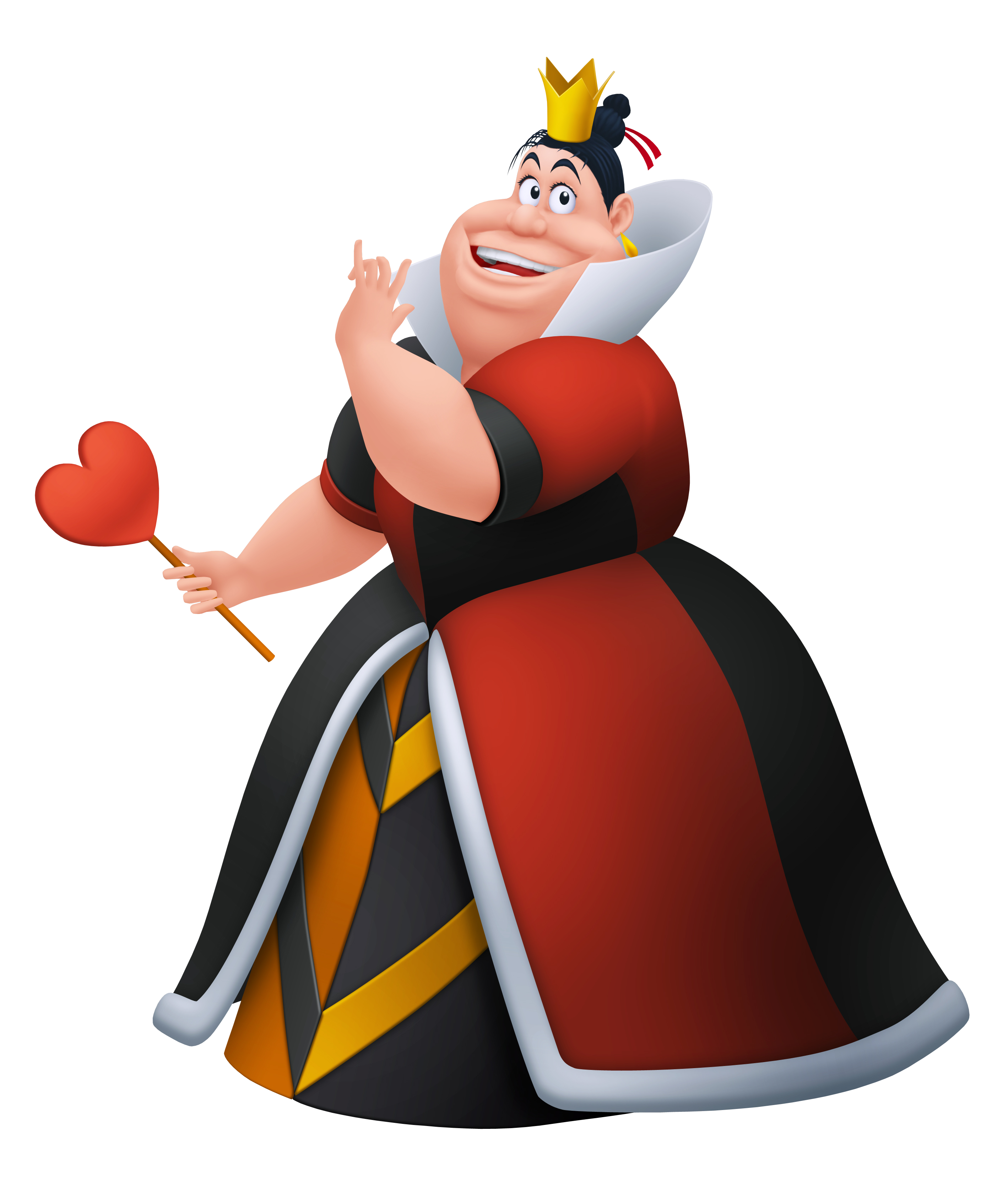 queen of hearts disney wiki