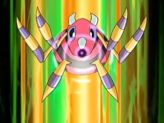 The Pokémon Alma EP451_Ariados_de_harley_generando_bola_sombra