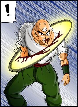 Tien Universe 17 Dragon Ball