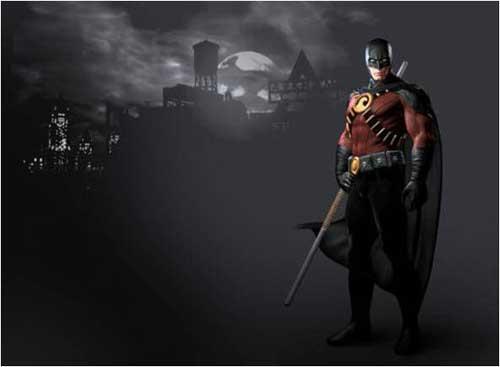 Image - ArkhamCity Red-Robin.jpg - Arkham Wiki - Wikia