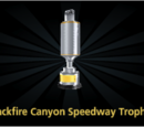 Backfire Canyon Speedway Trophy