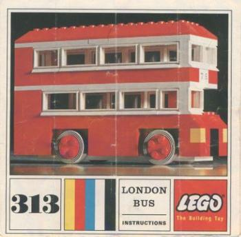 313 london bus brickipedia the lego wiki. Black Bedroom Furniture Sets. Home Design Ideas