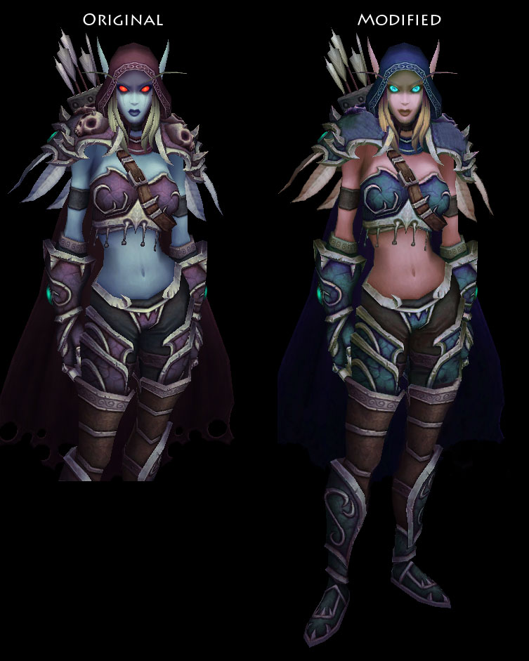 Night elf upcoming model update    - World of Warcraft Forums