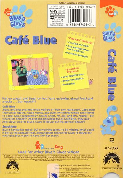Cafe Blue Clues