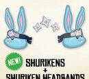 Shuriken Headband