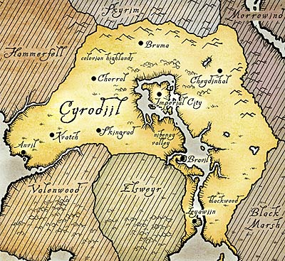 Image - Cyrodii... Game Of Thrones World Map
