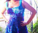 Bottlecap Dyed Dress