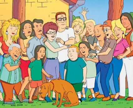 Hank Hill Characters King of The Hill Characters