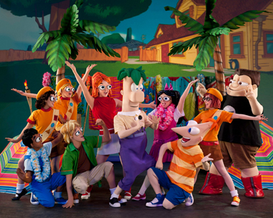 Image Phineas And Ferb Live Characters Jpg Disney Wiki