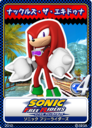Sonic Free Riders - 14 Knuckles the Echidna.png