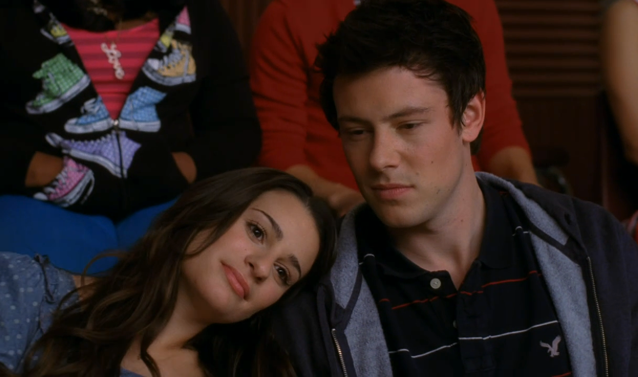 is rachel and finn from glee dating