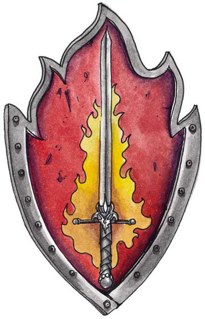dungeons and dragons deity symbols of strength