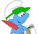 Reporter Smurf
