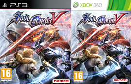 Soulcalibur V box arts