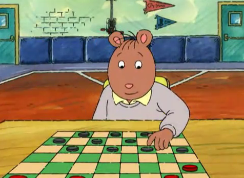 Checkers - Arthur Wiki