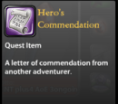 Hero's Commendation