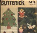 Butterick 3413 A