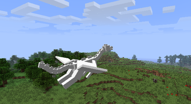 how to make a ender dragon in minecraft xbox 360