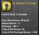 +1 Hexer's Crook