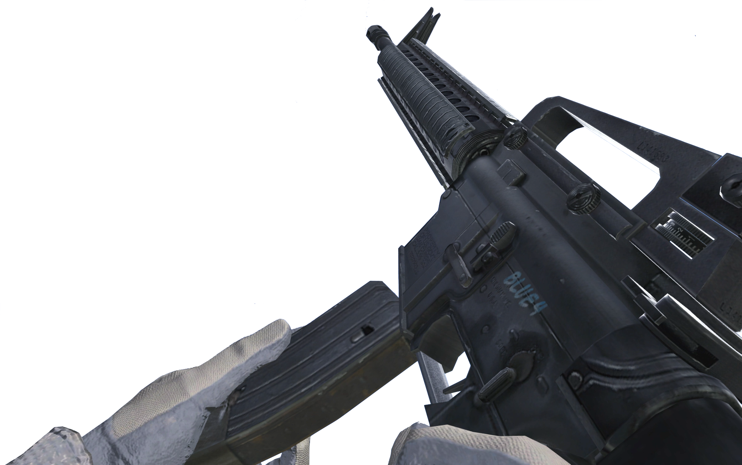 Image - M16A4 Reload CoD4.png - The Call of Duty Wiki ... M16a4 Mw2