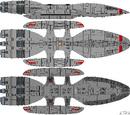 Columbia Class Battlestar (D8)