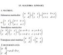 Algebră liniară