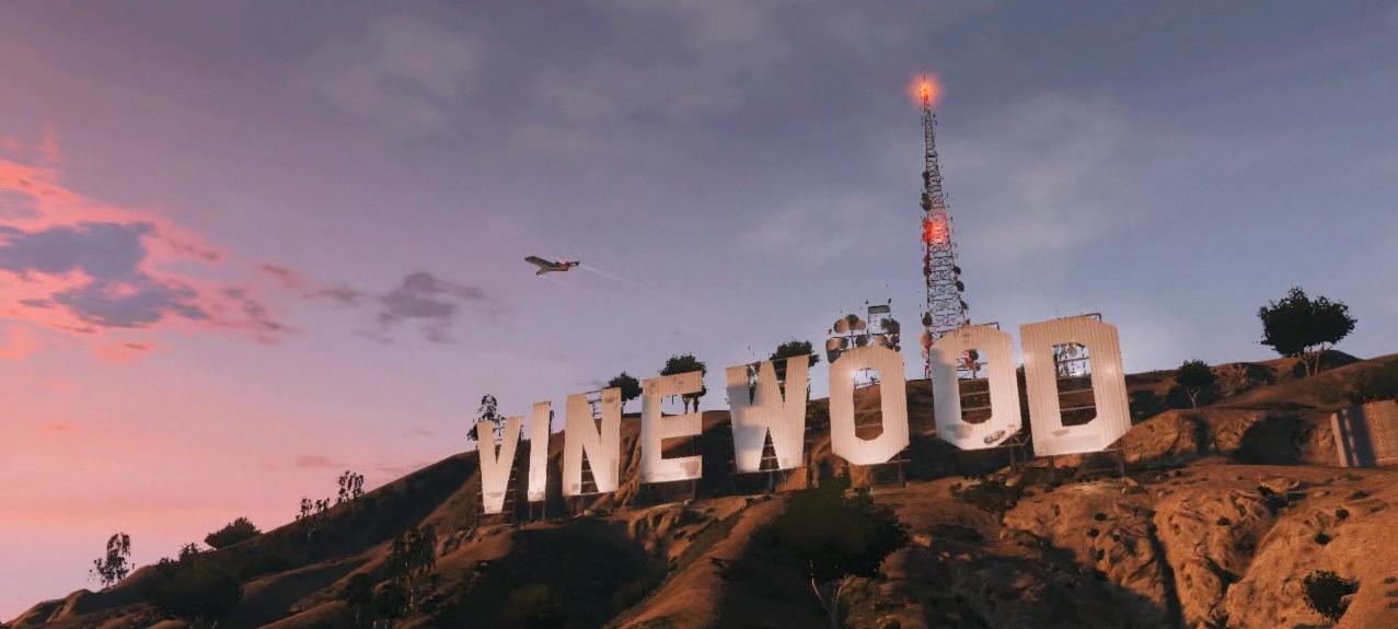 Vinewood Sign GTA Wiki The Grand Theft Auto Wiki IV San
