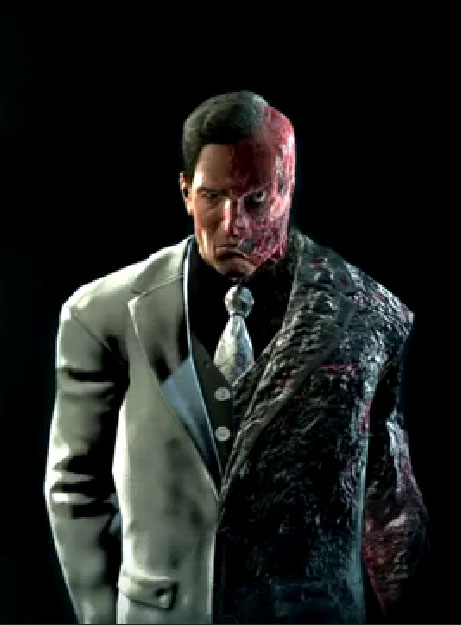 Gallery For > Arkham City Two Face Coin