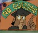 No Guessing!