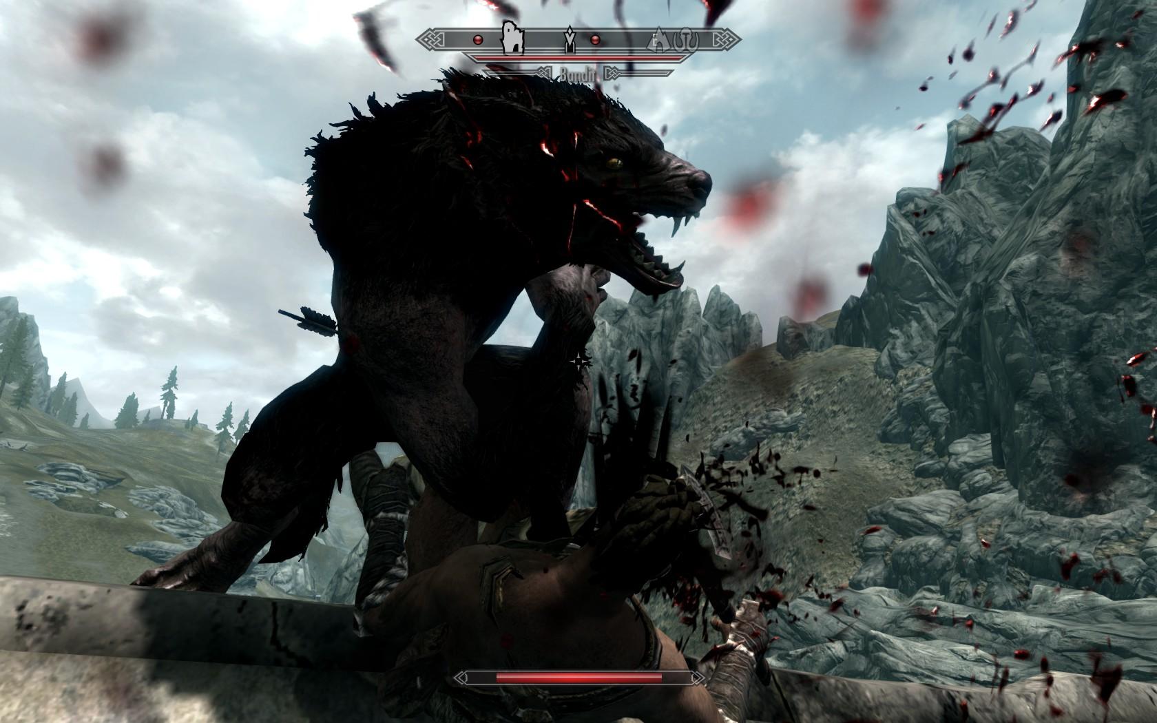Skyrim Werewolf Skill ...